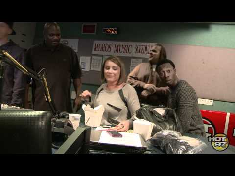 """Look at Me Now"" - The Angie Martinez Show karaoke bet..."
