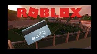 ROBLOX Jailbreak / Nur mit der kye card aus brechen