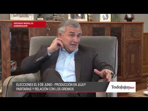 Gerardo Morales: Logramos la paz