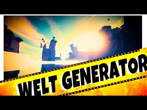 "► NEU in Minecraft ◄ CUSTOM WORLD GENERATOR Funktions Tutorial ↓ ""Angepasst"" German Deutsch"