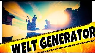 "► NEU in Minecraft 1.8.8 ◄ CUSTOM WORLD GENERATOR Funktions Tutorial ↓ ""Angepasst"" German Deutsch"