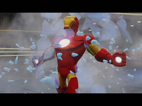 Marvel Super Heroes - Iron Man - Disney Infinity Movie Game New Episodes 2015 HD