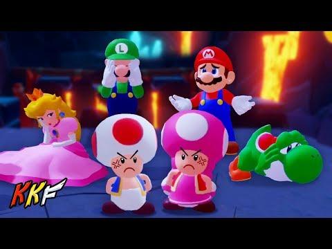 Co-op Challenge-Lava Pit: Flotilla Thrilla (2 Player) - Mario + Rabbids Kingdom Battle