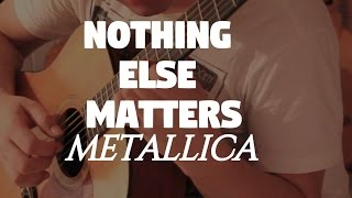 metallica nothing else matters on fingerstyle by fabio lima
