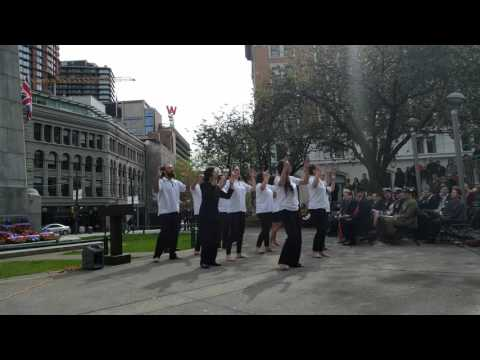 ANZAC Day 2016 - Victory Square, Vancouver, BC