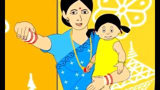 Aa Re Bai Chadheyi   Oriya Nursery Rhymes and Songs   Shishu Raaija A Kids World