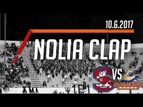 Nolia Clap - Marching 101 | SCSU vs Morgan State 10.6.2017
