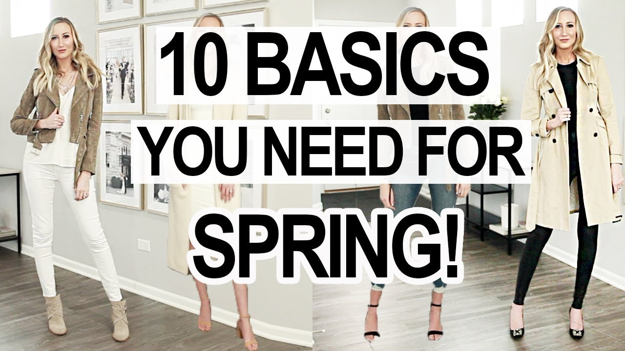 TOP 10 BASICS YOU NEED FOR EARLY SPRING! Spring Outfits 2019 5
