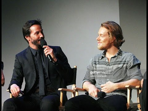John Wick Cast Interview with Keanu Reeves and Alfie Allen