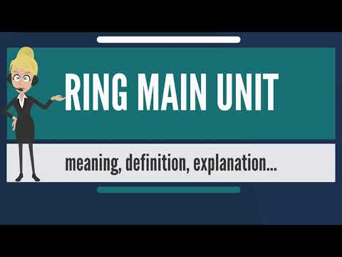 What is RING MAIN UNIT? What does RING MAIN UNIT mean? RING MAIN UNIT meaning & explanation