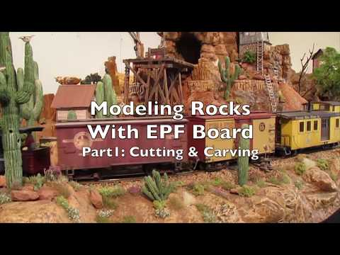 Carving Foam Rocks on the Thunder Mesa Mining Co  Part 1