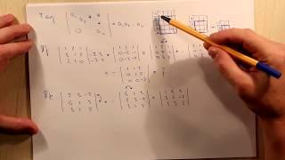 Вычисление определителей по методу Гаусса. Тема