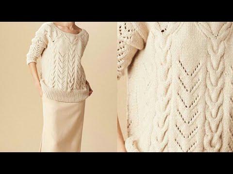 e1e1c738b Formal Girls Sweater in Hindi Girls Sweater Design Two Designs in one  Sweater Design-58