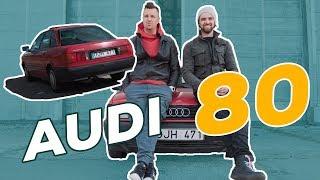 "#1 iššūkis ""Audi 80"" - per kiek iki 100 km/val. / Spausk Gazą TV"