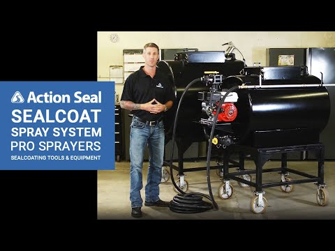 Sealcoat Spray System | Pro Sprayers | Sealcoating Tools & Equipment | Action Seal