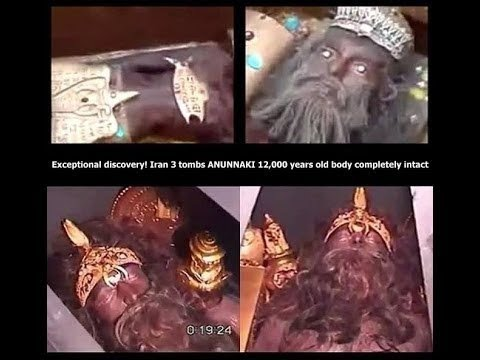 Gilgamesh NIMROD INTACT Tomb! NEPHILIM Giant Retrieved for DNA GENOMES, Fallen Angels