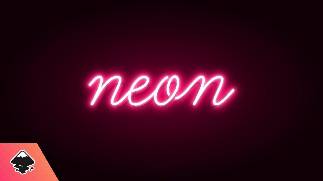 Inkscape Tutorial: Neon Text Effect