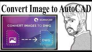 How to Convert Image to AutoCAD l How to Image input in AutoCAD