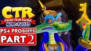CRASH TEAM RACING FUELED Gameplay Walkthrough Part 2 [1080p HD 60FPS PS4 PRO] - No Commentary