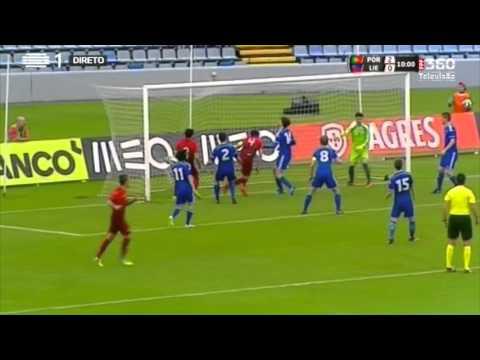 Sub-21: Portugal vence Liechtenstein (4-0)