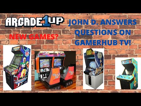 Arcade1up: John D Interview with Gamehub TV!  New games on the horizon? from PsykoGamer
