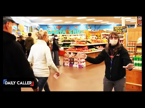 Watch What Happens When A Maskless Crowd Invades A Store