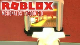MIN EGEN MCDONALDS! - Roblox McDonalds Tycoon Dansk Ep 1