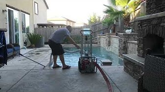 Pool Tile Cleaning in Sacramento, CA.