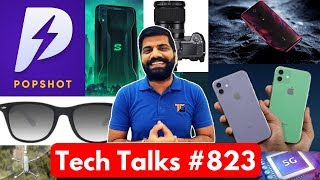 Tech Talks #823 - PopShot, Redmi K20 Game Turbo, MediaTek 5G, Galaxy A7s 64MP, Dji AirSense