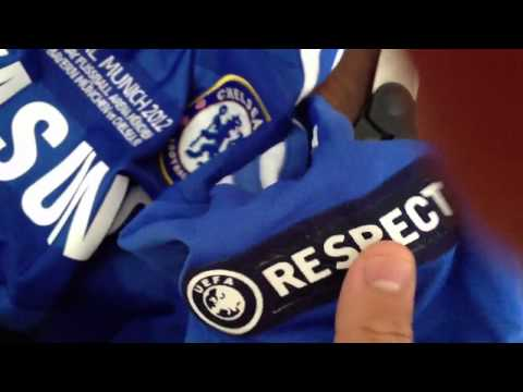Unboxing #11 DROGBA 11-12 CHELSEA UEFA CL Final Home Jersey