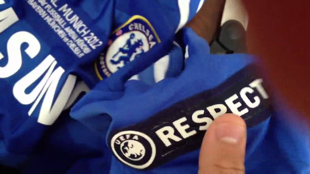 finest selection 329bb d86f6 Unboxing #11 DROGBA 11-12 CHELSEA UEFA CL Final Home Jersey