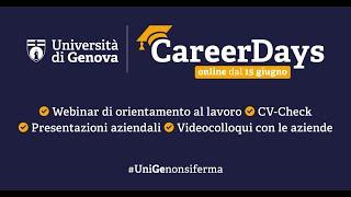 CareerDays UniGE 2020