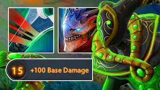 Dragon Strike Form With Free 100 DMG | Dota 2 Ability Draft