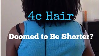 4c Hair Doomed To Be Shorter?  Fine & Low-Density Types