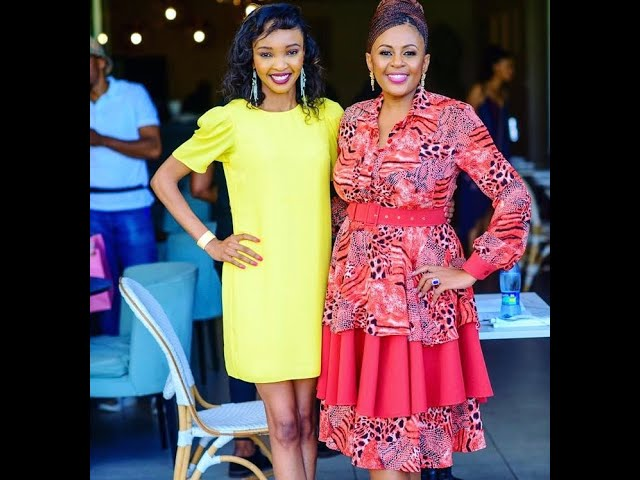 Mona Lisa Dube's  Interview With Basetsana Khumalo, Former Miss South Africa and Broadcaster