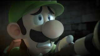 Luigi Mansion Super Smash Bros Ultimate Trailer Featuring Simon