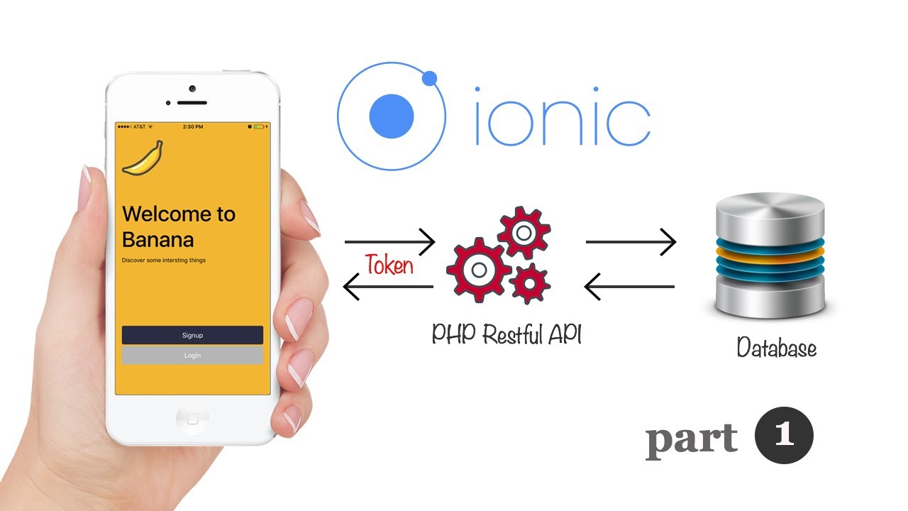 Ionic 3 and Angular 4: PHP Restful API User Authentication