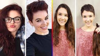 Upuzun Saçlarını Kesen Cesur Kadınlar