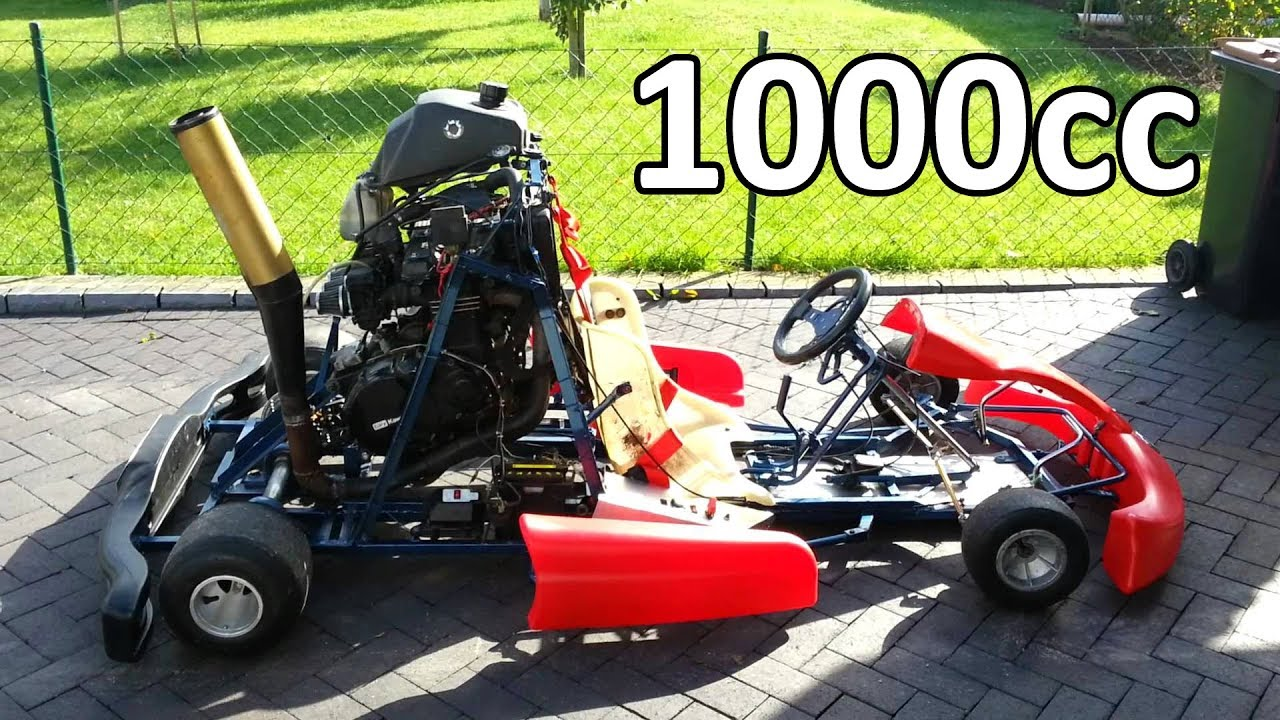 Go Kart With 1000cc Motorcycle Engines