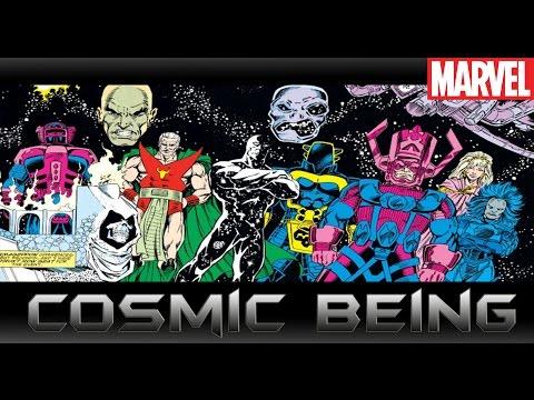 สิ่งมีชีวิตขั้นเทพในจักรวาลมาเวล[Cosmic Being]comic world daily