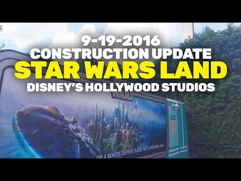 Construction Update: Star Wars Land at Disney's Hollywood Studios, Walt Disney World