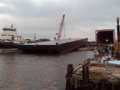 220Ft Deck Barge Construction Project Part 2