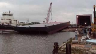 220ft Deck Barge Construction Project Part 2