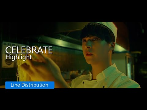 Highlight - Celebrate : Line Distribution