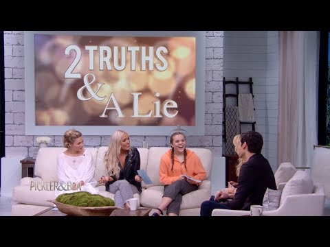 Two Truths & a Lie with the Stars of 'Nashville' - Pickler & Ben