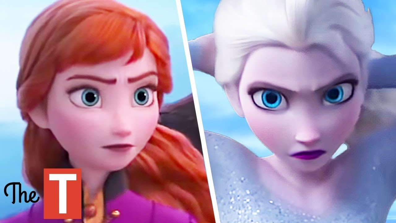 Frozen 2 Anna And Elsa Will Look Completely Different