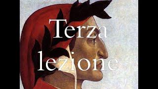 """terza lezione  """"Rime di Dante"""", Prof R. Pinto (prima parte)"""