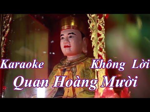 karaoke Quan Hoang Mười , beat chuẩn, Hoài Thanh