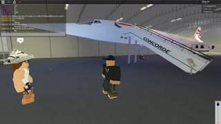 ' Concorde Experience ' de Murphos. De Roblox.