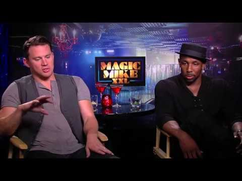 Magic Mike XXL: Channing Tatum & Stephen 'tWitch' Boss Exclusive Interview